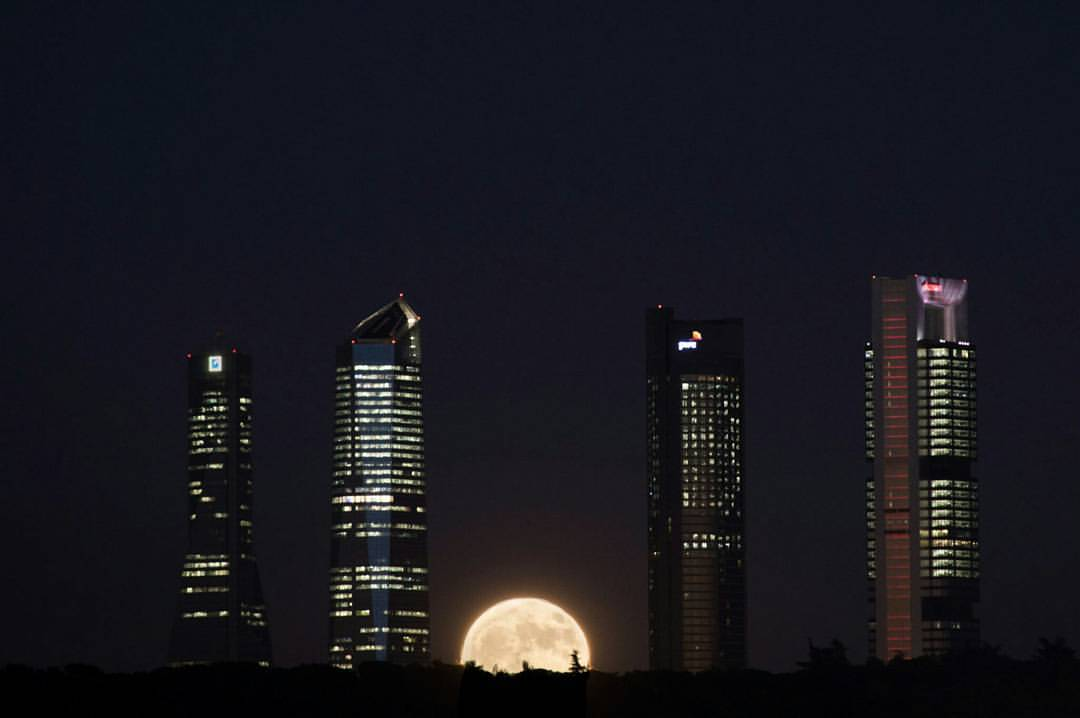 Cuatro Torres de Chamartín, edificios que conocer en Madrid
