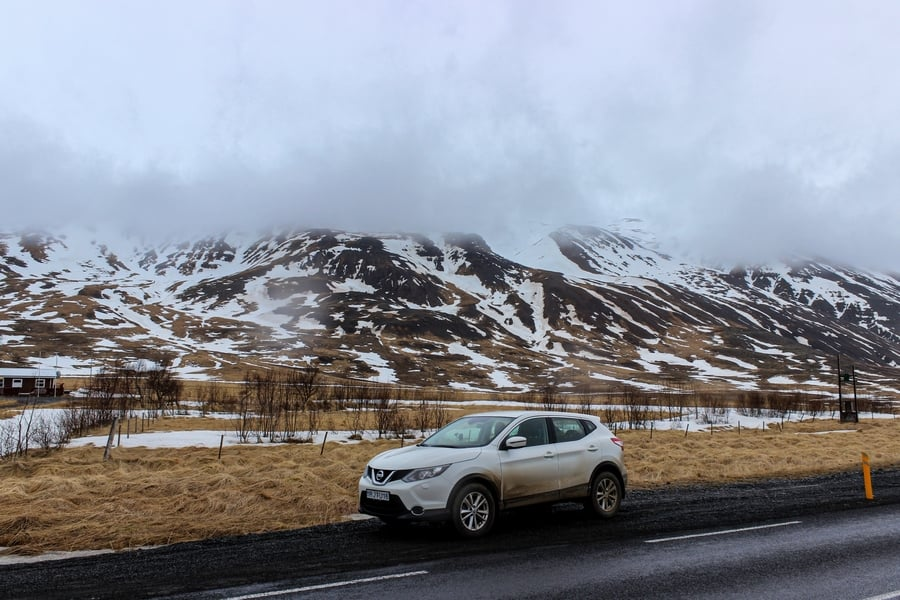 Traffic rules in the Ring Road Iceland