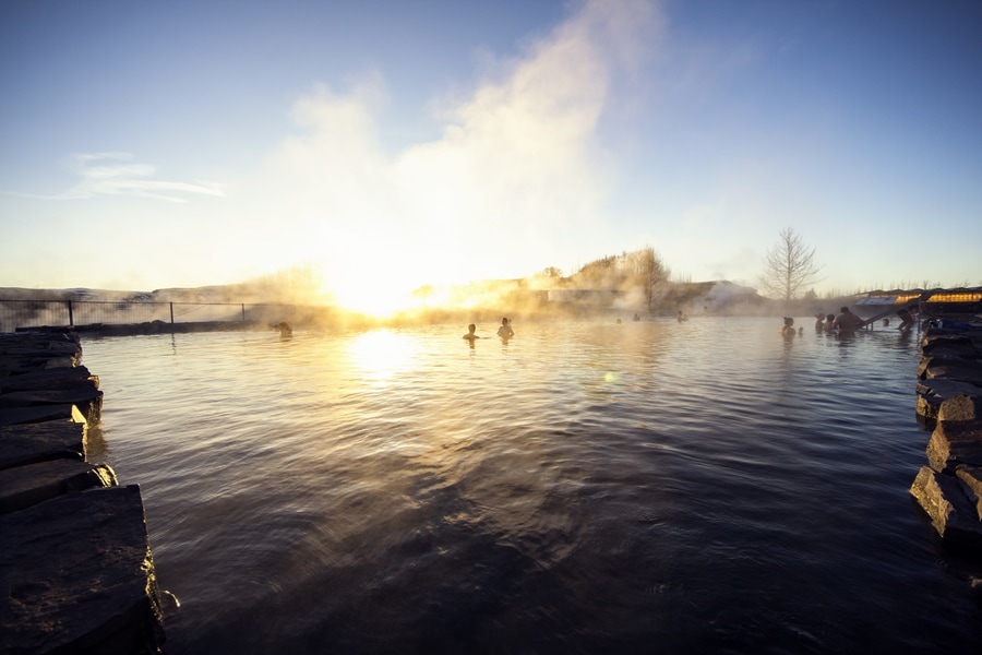 The Secret Lagoon, the oldest natural hot springs Iceland