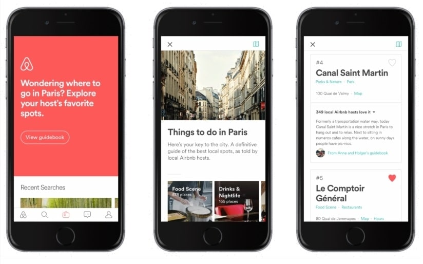 How to use the Airbnb app