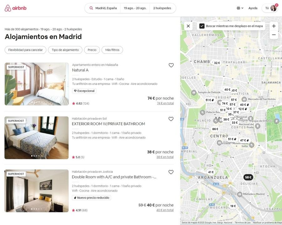 Plataforma Airbnb cómo funciona