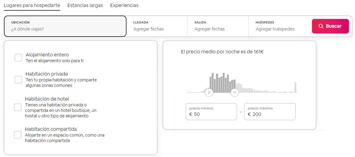 Cómo registrarse en Airbnb para encontrar alojamiento