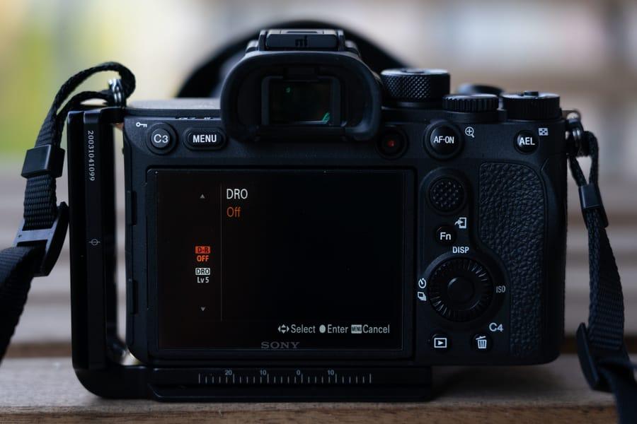 HDR/DRO camera setting