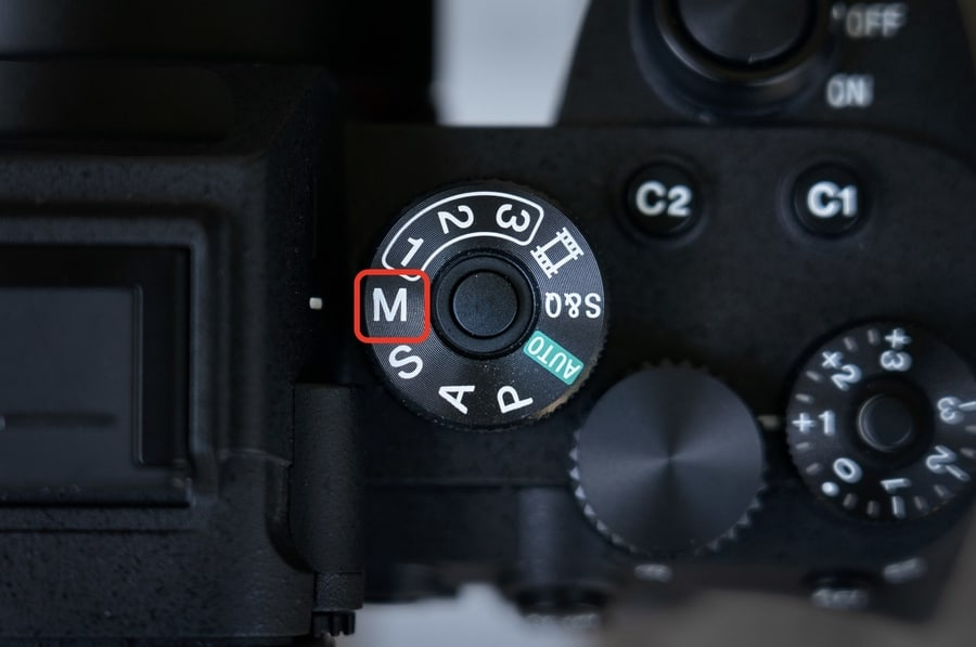 Dial Camera Manual Mode