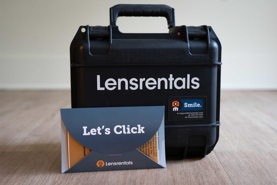 Lensrentals Customer service opinion