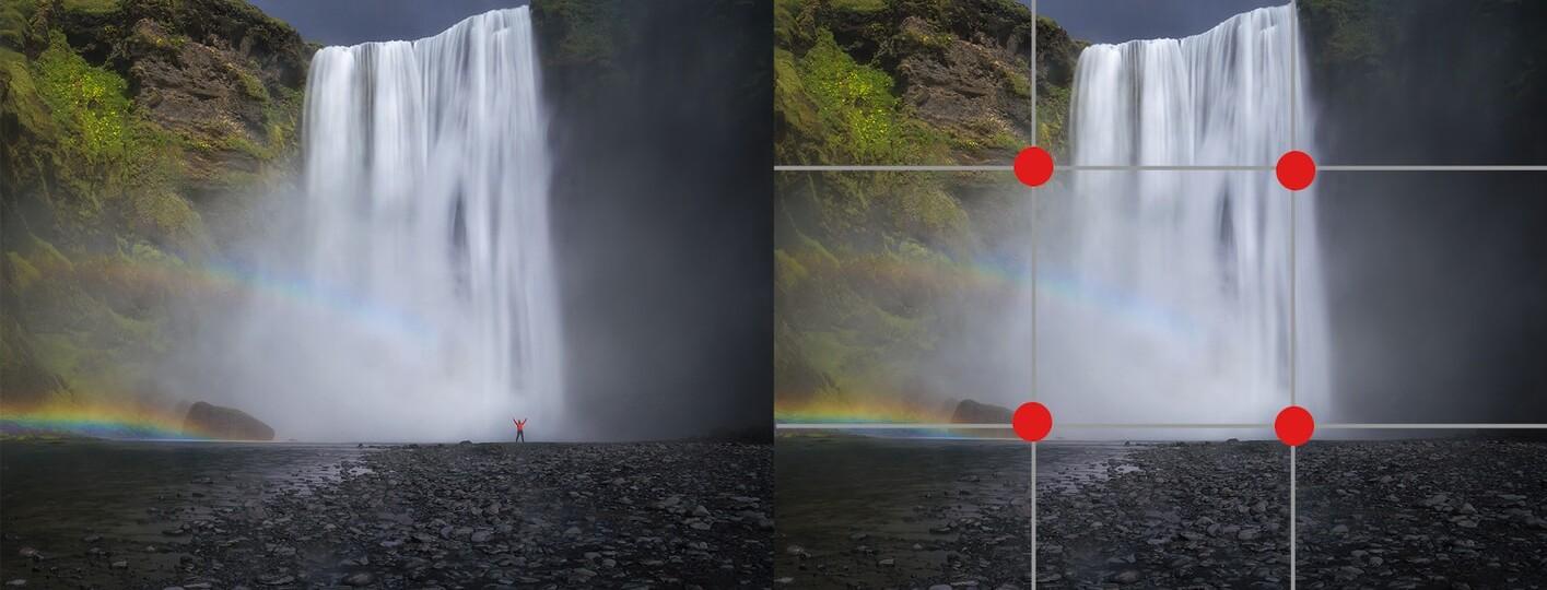 reglas de la composicion en fotografia