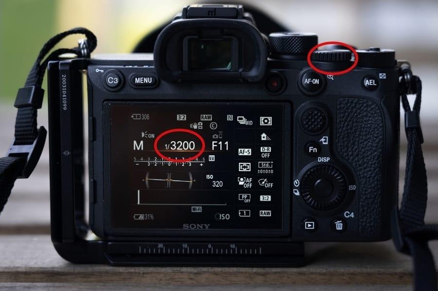 Shutter Speed camera setting