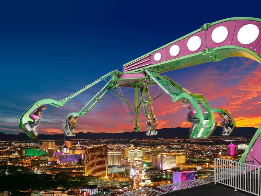 Stratosphere the best area to sleep in las Vegas