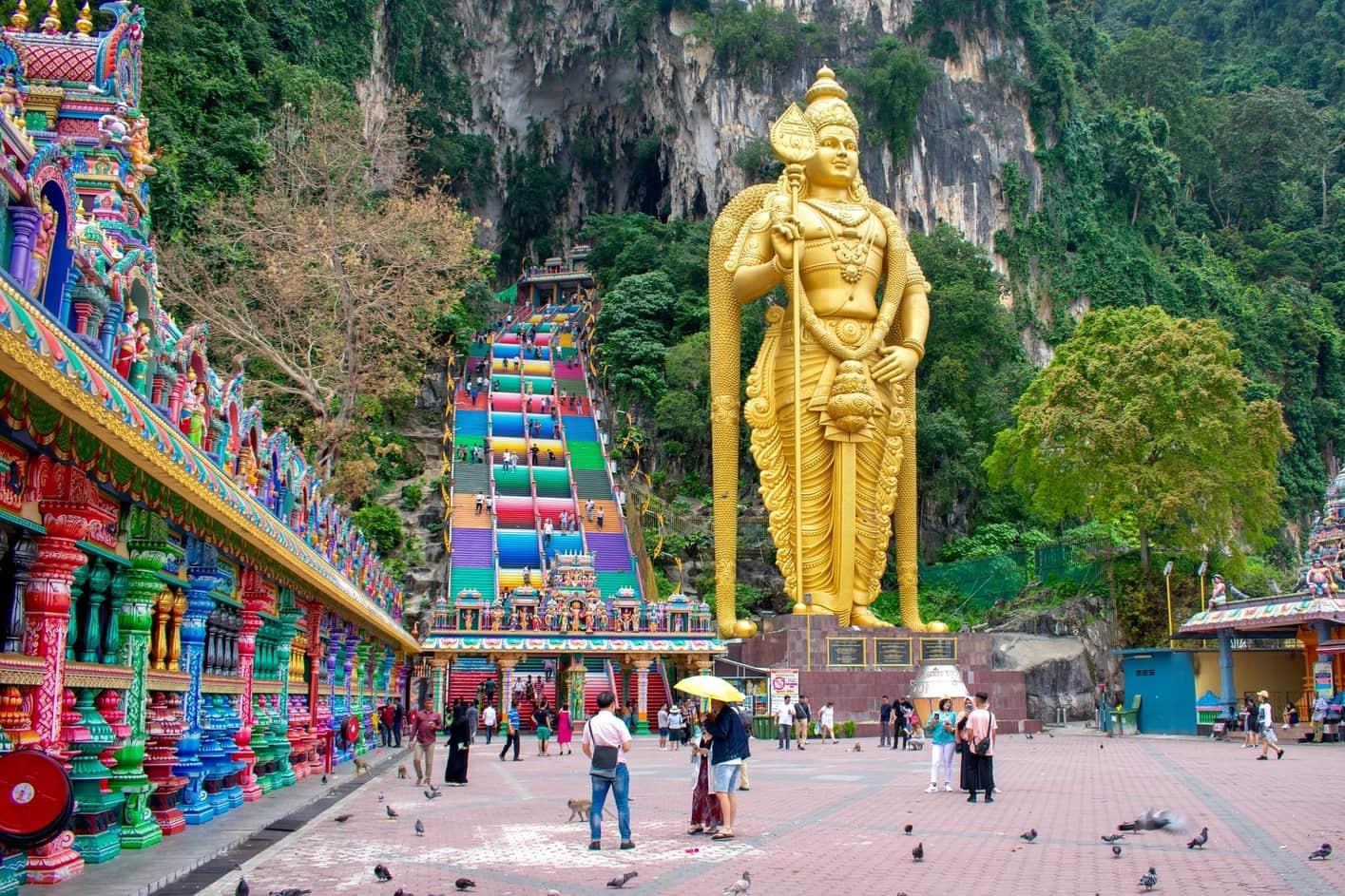 Batu Caves, tourist attractions in Kuala Lumpur