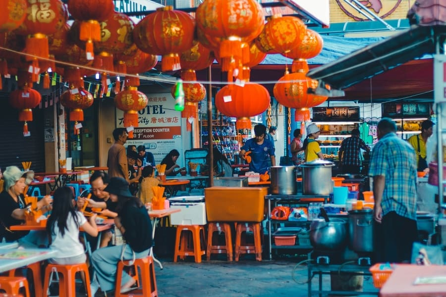 Chinatown, places of interest in Kuala Lumpur
