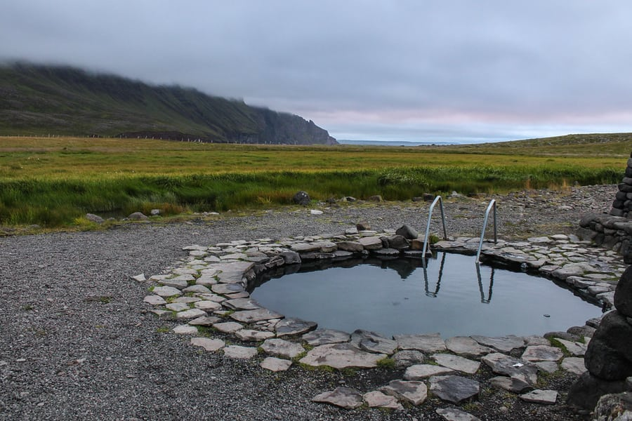 Grettislaug, thermal pools in Iceland