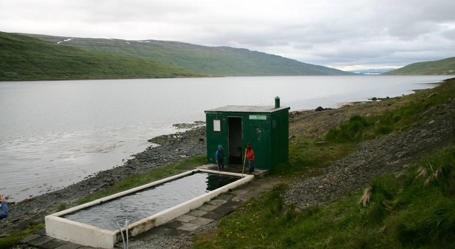 Hörgshlíð Hot Pot, thermal hot springs Iceland