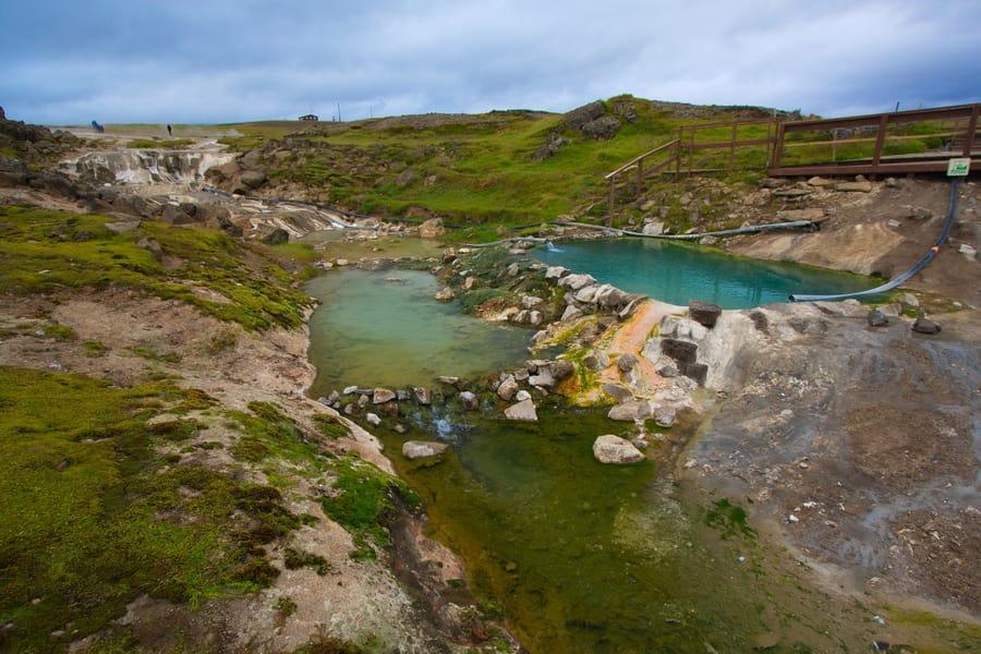 Hveravellir, geothermal hot springs Iceland