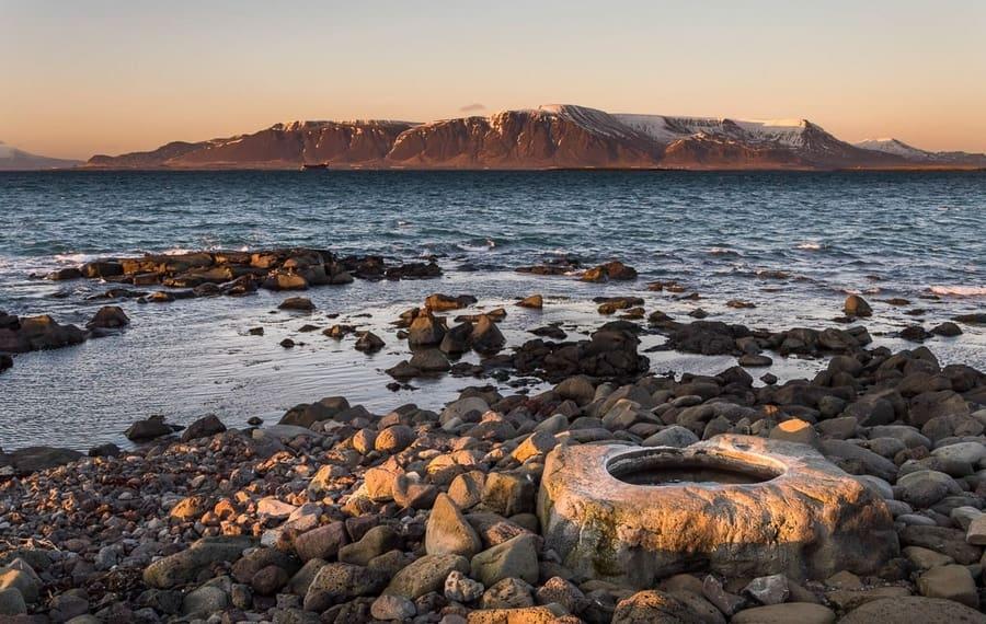 Kvika, foot hot baths Iceland