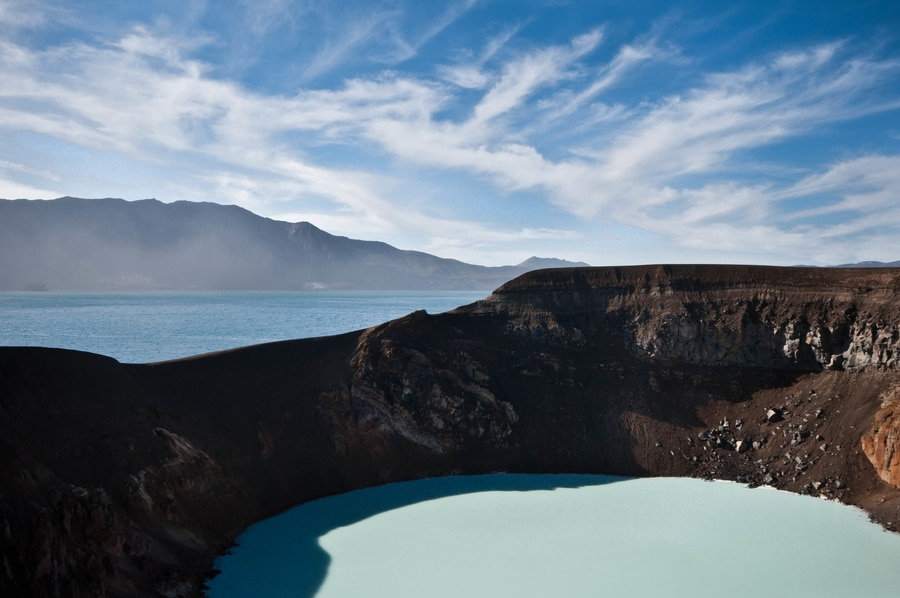 Viti, hot lakes in Iceland