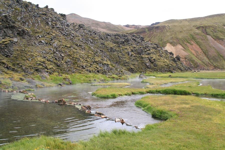 Landmannalaugar, hot springs of Iceland