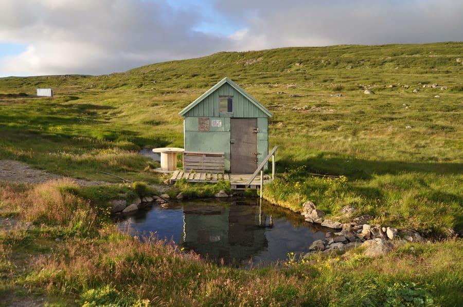 Nauteyri, beautiful thermal baths in Iceland