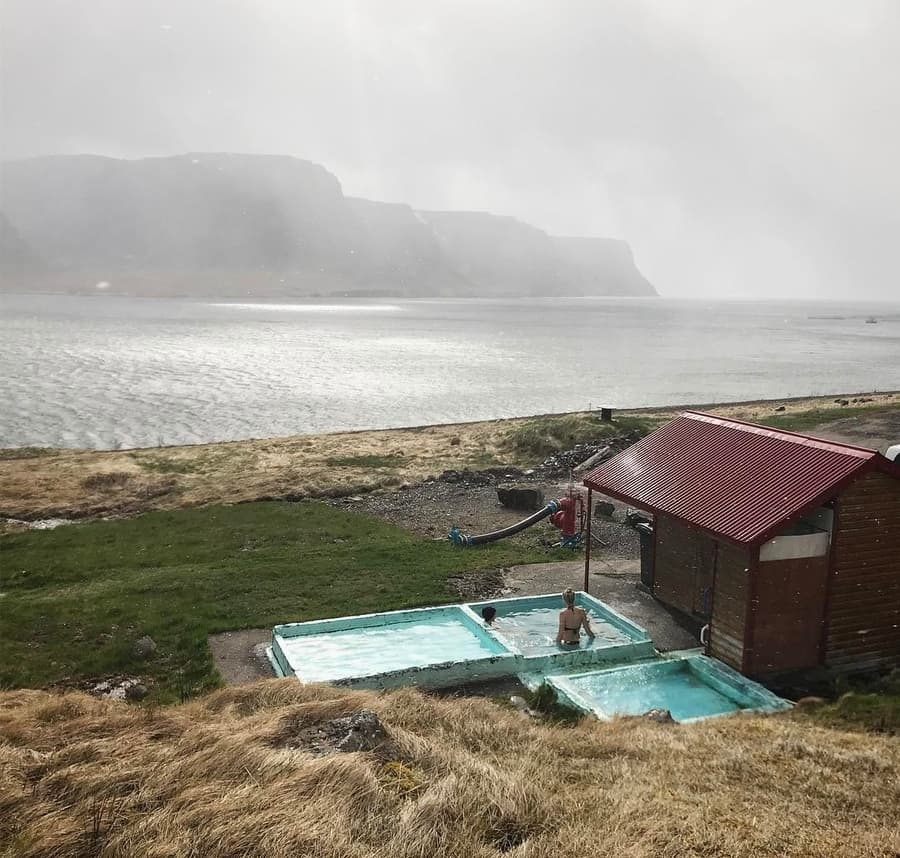 Pollurinn Hot Pool, thermal spa Iceland