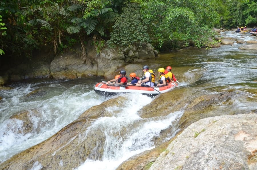 Rafting in Gopeng District, activities in Kuala Lumpur
