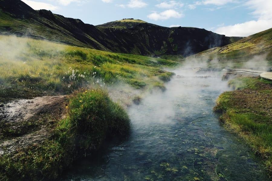 Reykjadalur, Iceland's best hiking trails