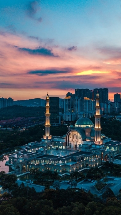 Wilayah Mosque, cool things to do in Kuala Lumpur