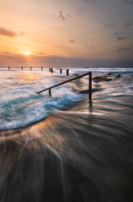 sunrise seascape photography