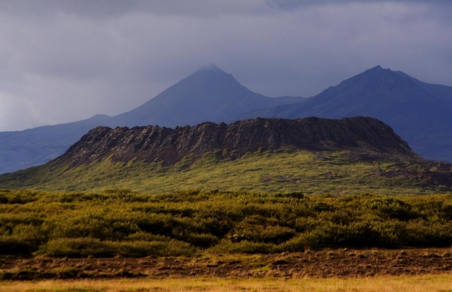 Eldborg, Snaefellsnes volcano crater
