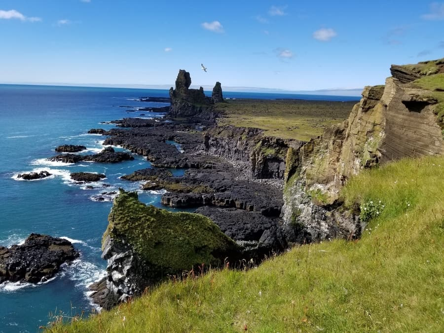 Londrangar Cliffs, things to do in Snaefellsnes Iceland
