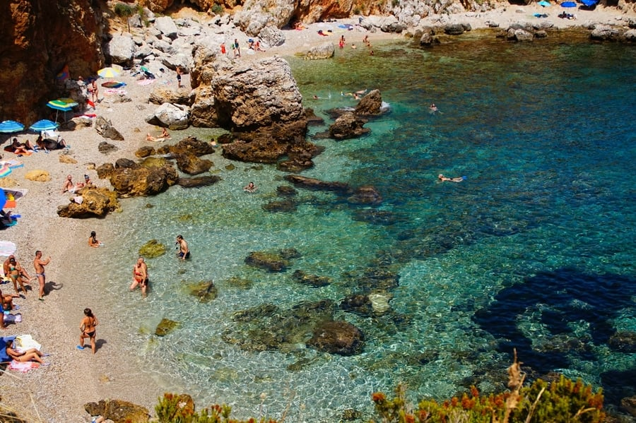 Zíngaro Nature Reserve, places to go in Sicily Italy
