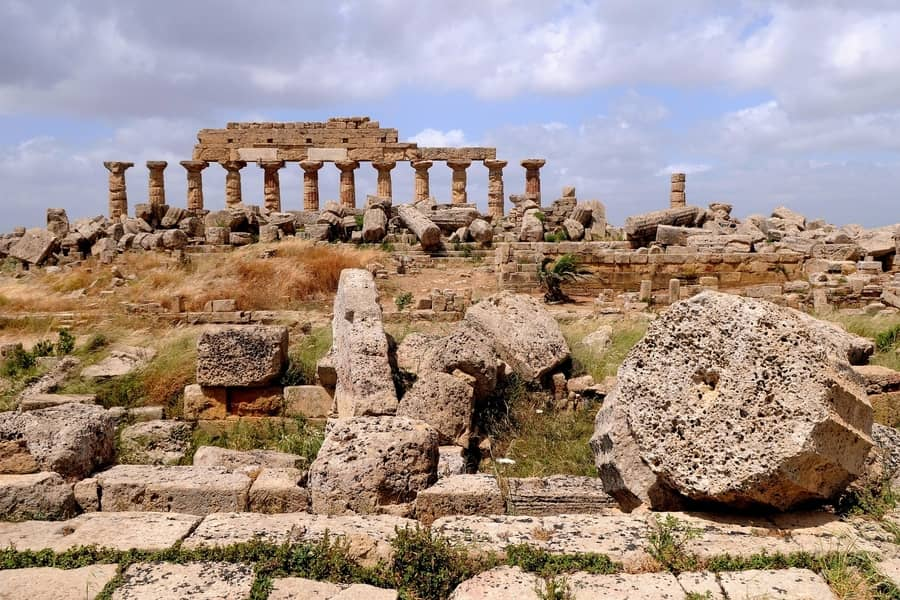 Temples of Selinunte, places to visit in Sicily Italy