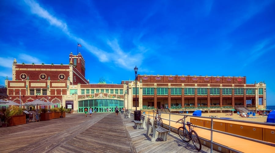 20. Asbury Park, an interesting place to go in New Jersey