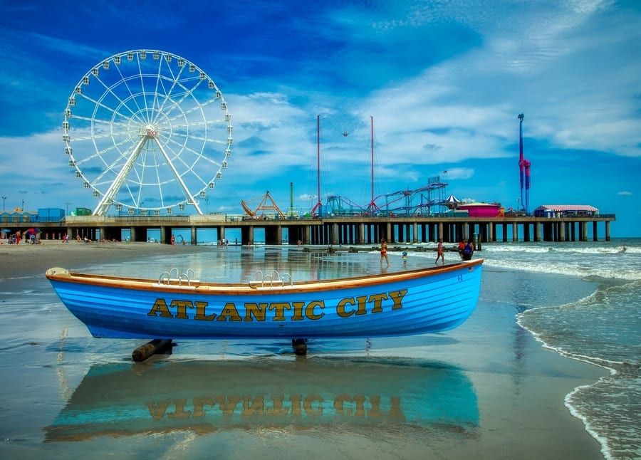3. Visit Atlantic City, the best thing to do in NJ at night