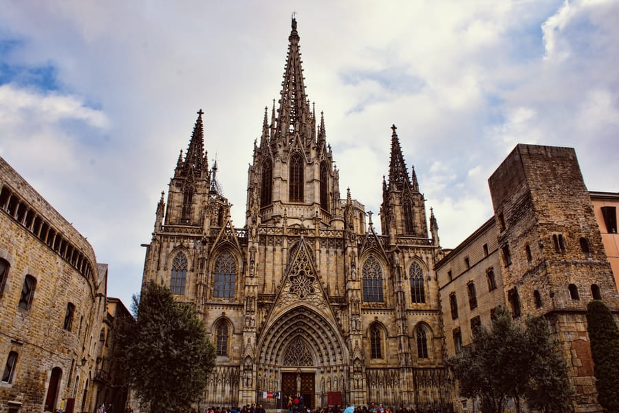 Barcelona Cathedral, must see in Barcelona