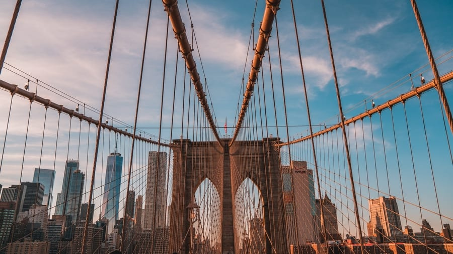 Brooklyn Bridge, places to see in New York City