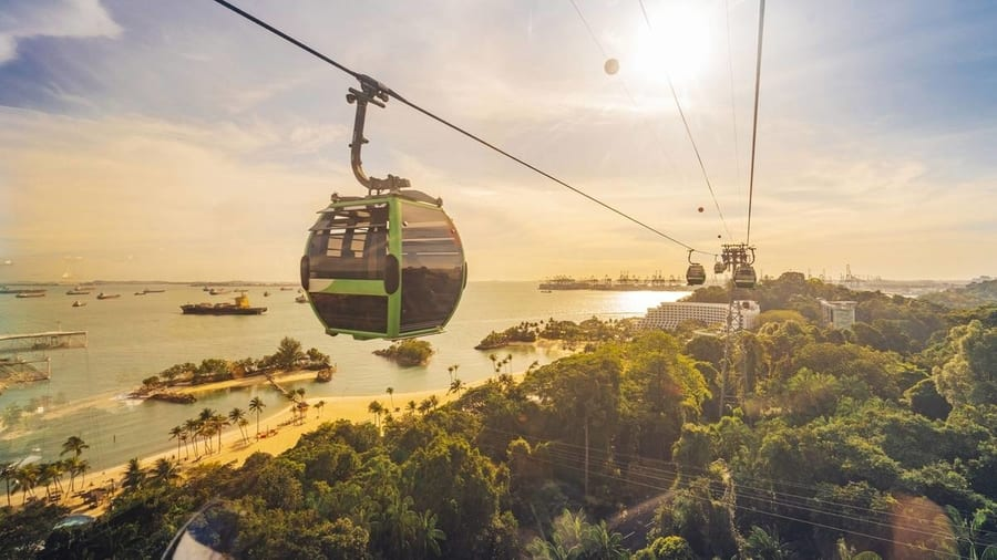 Singapore Cable Car, things to do in SG