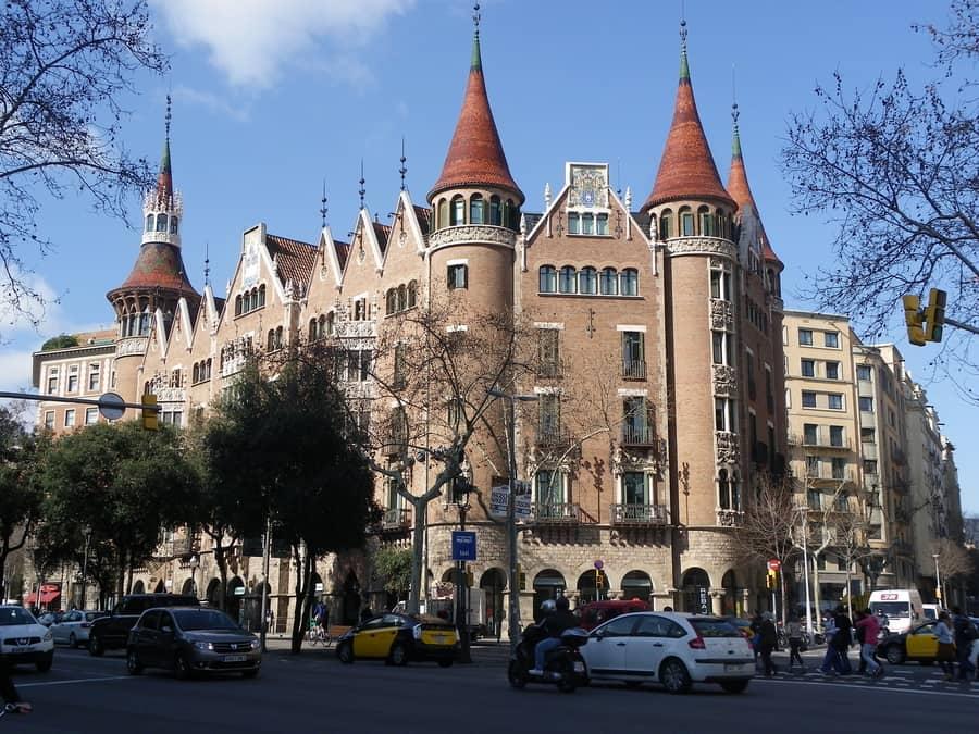 Casa de les Punxes, places to go in Barcelona