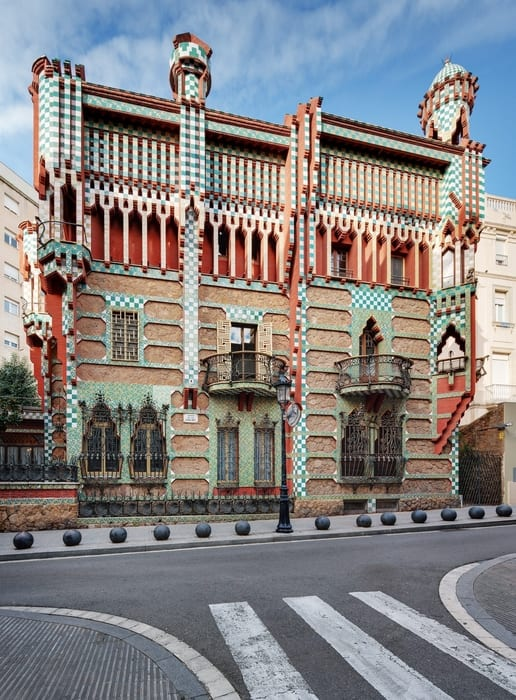 Casa Vicens, must visit places in Barcelona
