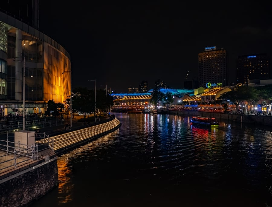 Clarke Quay, best places to visit in Singapore