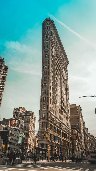 The Flatiron Building, things to see in New York City