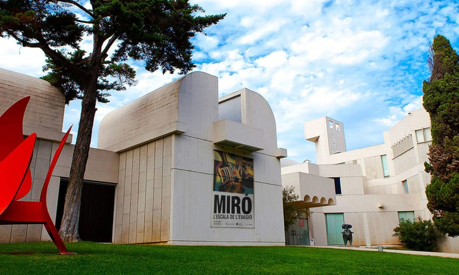 Joan Miró Foundation, best things to see in Barcelona Spain
