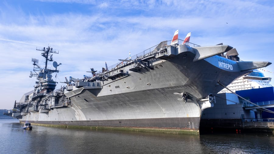 Intrepid Sea, Air & Space Museum, unusual things to do in New York City