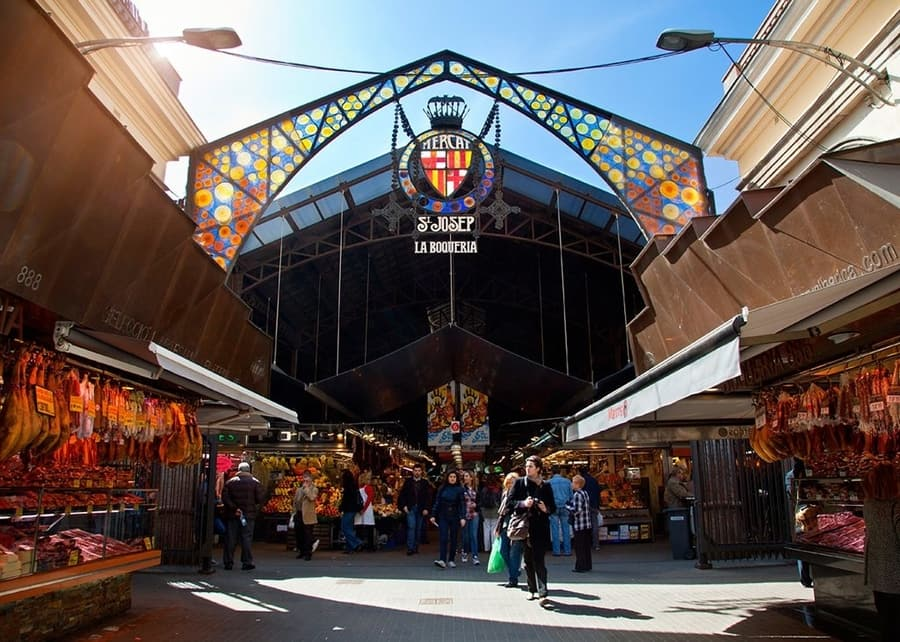 La Boquería Market, things to do Barcelona Spain