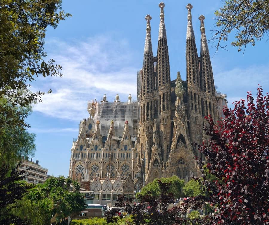 Sagrada Familia, things to do in Barcelona