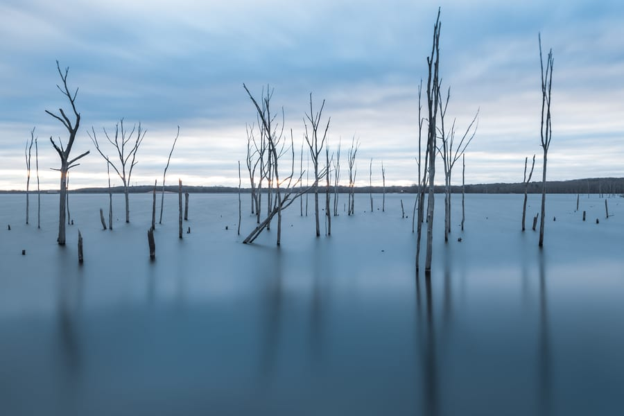 22. Manasquan Reservoir, a calm place to go in New Jersey