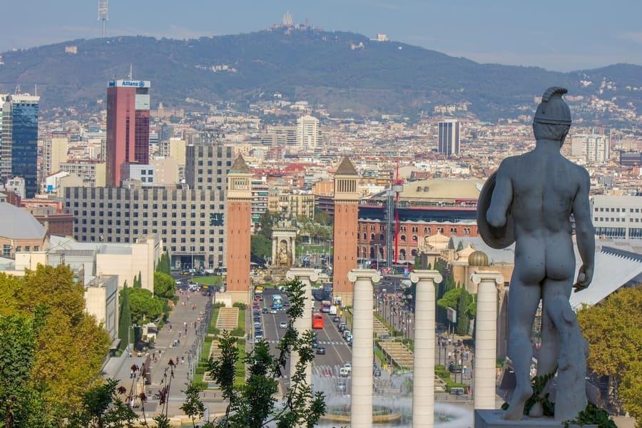 Montjuïc, Barcelona places to visit