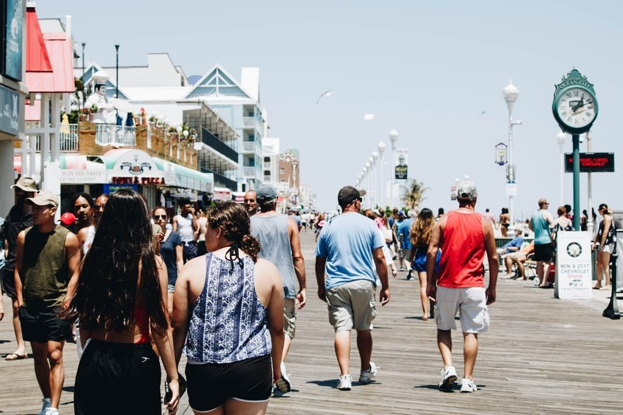 16. Go to Ocean City, something to do in New Jersey in the summer