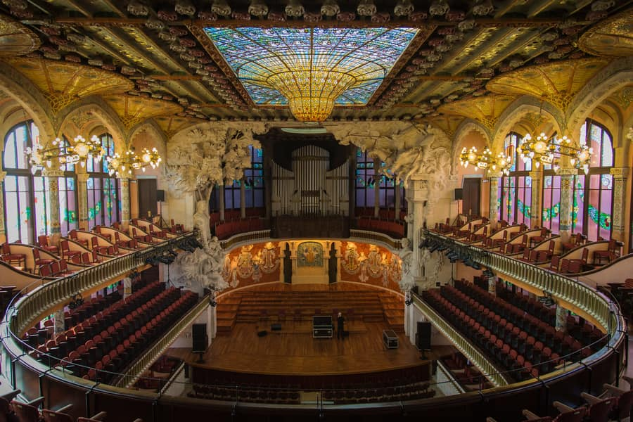 Palace of Catalan Music, where to go in Barcelona