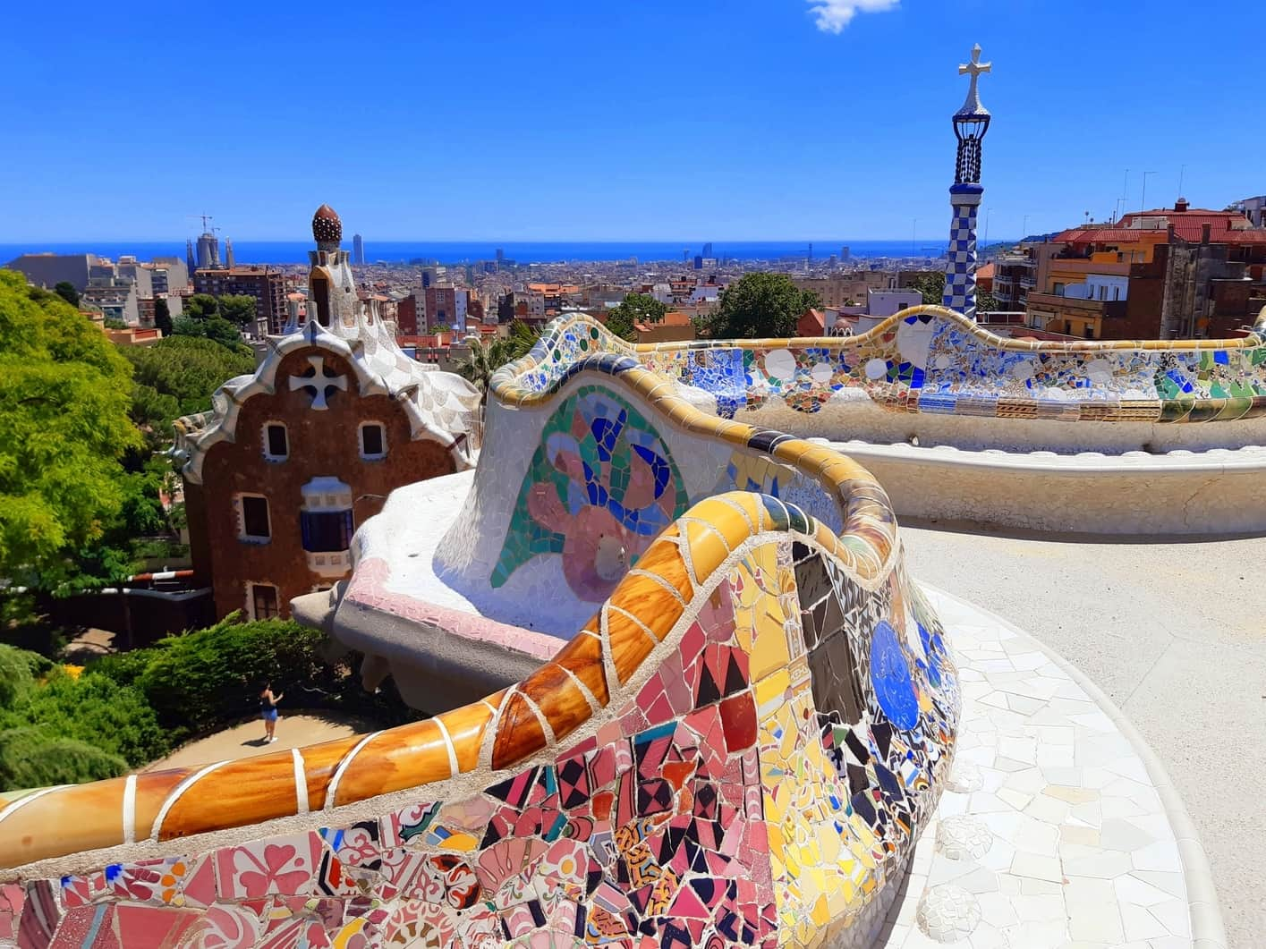 Park Güell, places to visit in Barcelona spain