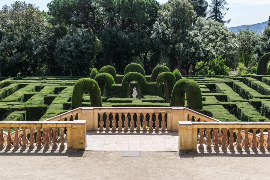 Laberint d'Horta, attractions to see in Barcelona