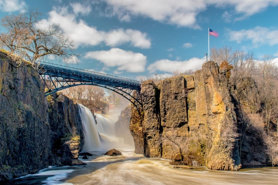 11. Paterson Great Falls, another attraction in New Jersey